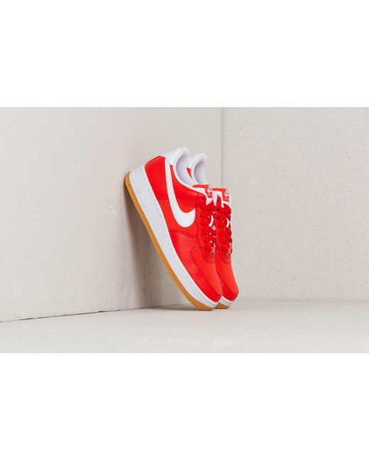 Lyst Nike Air Force 1 ́07 Premium Wmns Habanero Red/ White in Red