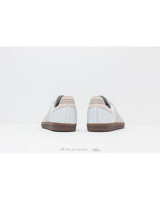 43a603ef88a ... Adidas Originals - Adidas Samba Og Ft Crystal White  Raw White  Gold  Metalic for ...
