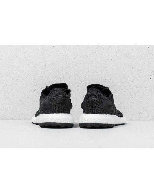 Pureboost Lyst footshop Adidas Core Negro / DGH Solid GRIS / DGH