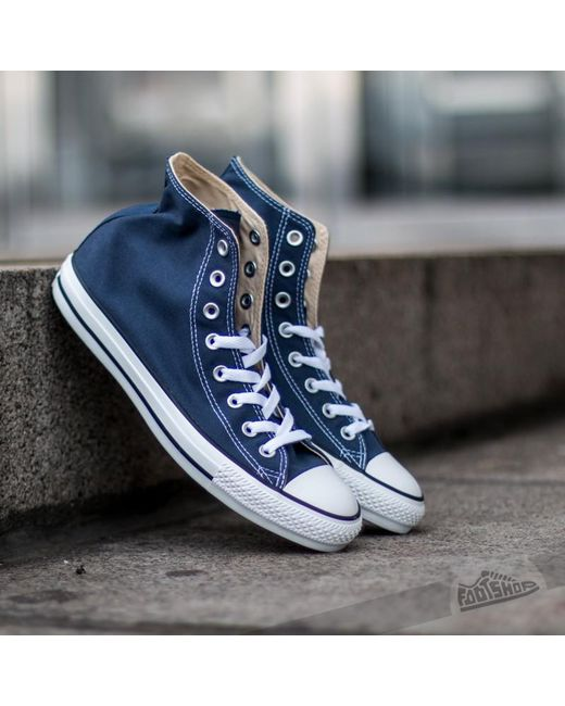 Converse   Blue All Star High Trainers - Navy for Men   Lyst