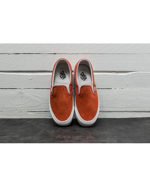 Vans OG Classic Slip-On (Suede/ Canvas) Autumn Glaze Venta Finishline umfeErTk