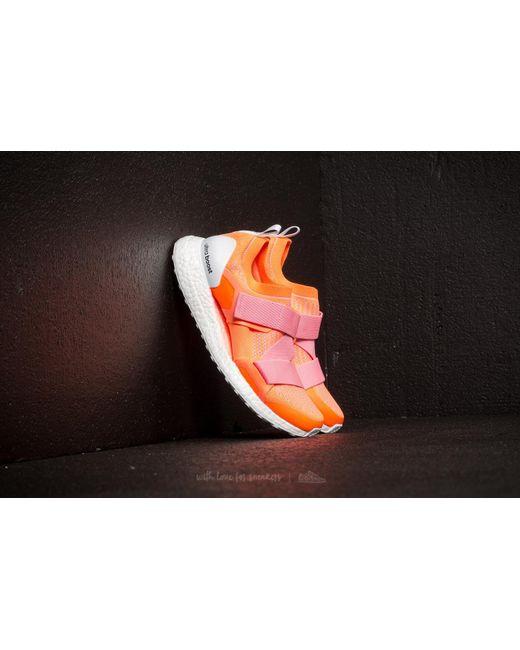lyst footshop adidas x, stella mccartney ultraboost x luce arancione