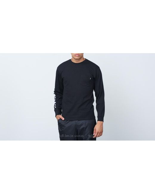 Vans - Off The Wall Classic Tee Black/ White for Men - Lyst