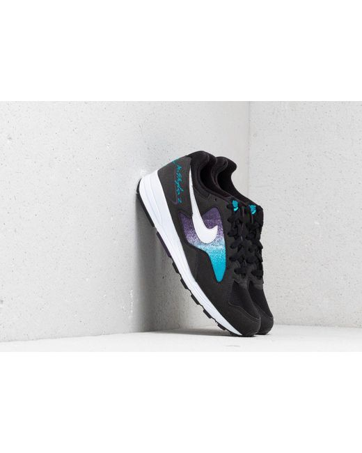 low priced 8497f 95e65 Nike - Air Skylon Ii Black  White-blue Lagoon for Men - Lyst ...