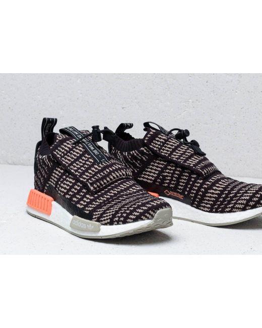 5ac77fe3c ... Adidas Originals - Adidas Nmd Ts1 Pk Gtx Core Black  Sesame  Chalk  Coral for