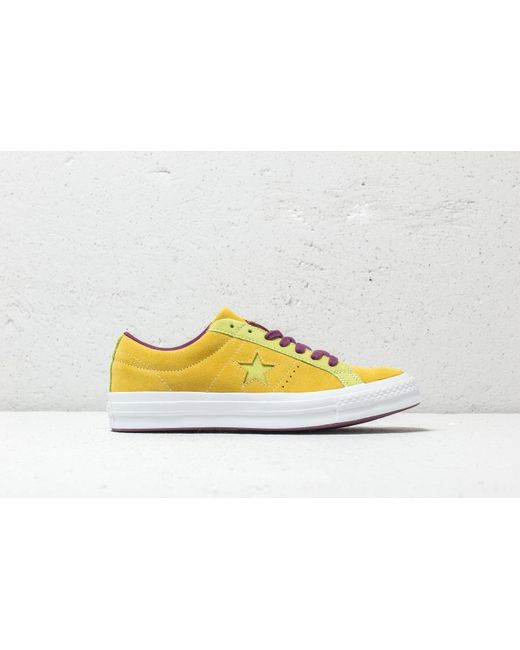 b6636797f80 ... Converse - One Star Ox Apple Green  Sharp Green for Men - Lyst ...
