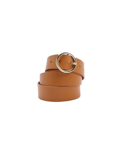 Forever 21 - Brown Faux Leather Belt - Lyst