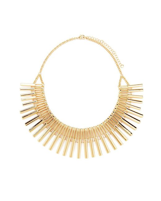 Forever 21 | Metallic Matchstick Statement Necklace | Lyst