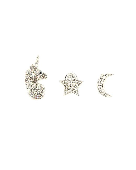 Forever 21 | Metallic Unicorn Pin Set | Lyst