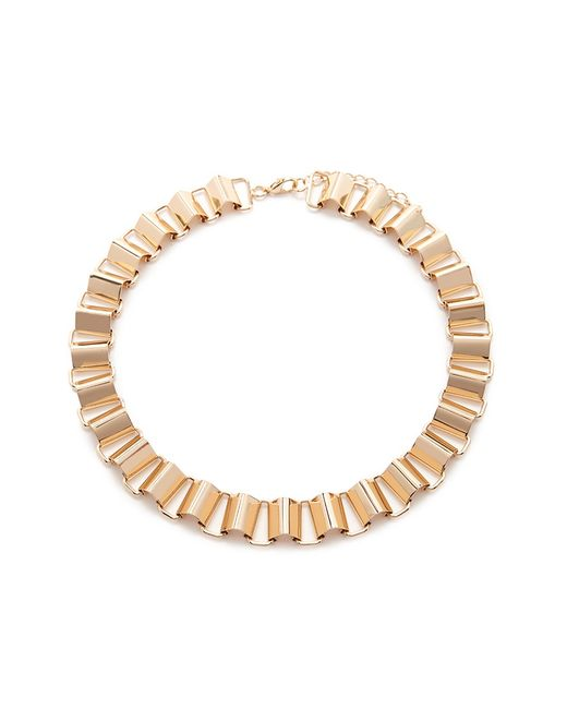 Forever 21 | Metallic Ridged Chain Necklace | Lyst