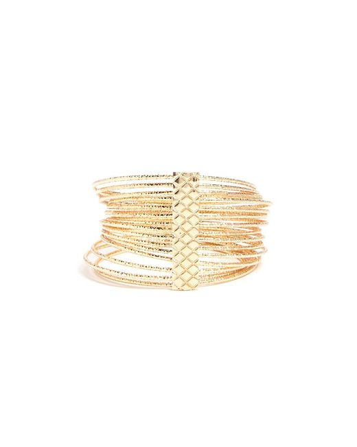 Forever 21 - Metallic Layered Bangle Bracelet - Lyst