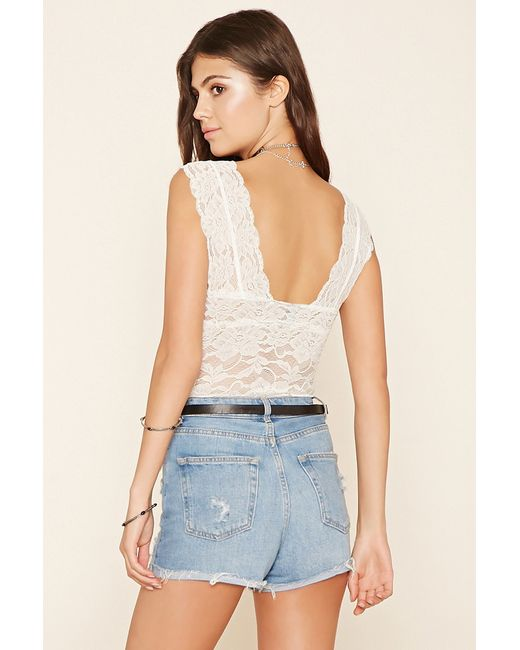 977afe5898 Pictures of Lace Bodysuit Forever 21 -  rock-cafe