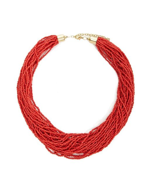 Forever 21 - Layered Bead Necklace - Lyst