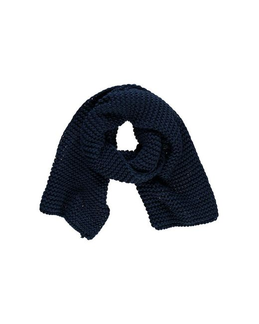 Forever 21 Blue Long Knit Scarf , Navy