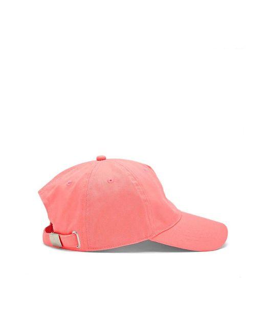 ebc7e518750 ... Forever 21 - Pink Canvas Baseball Cap - Lyst