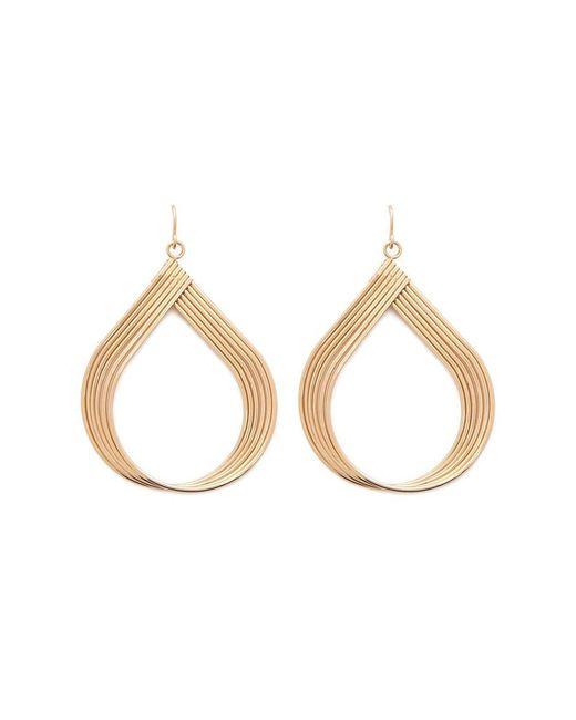 Forever 21 - Metallic Textured Teardrop Earrings - Lyst