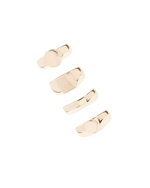 Forever 21 - Metallic Solid Ring Set - Lyst