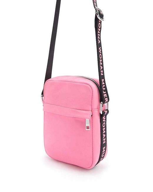 Forever 21 - Pink Woman Graphic Crossbody Bag - Lyst