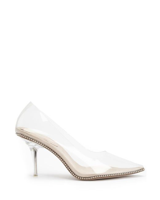 Forever 21 - Natural Transparent Pointed-toe Pumps - Lyst