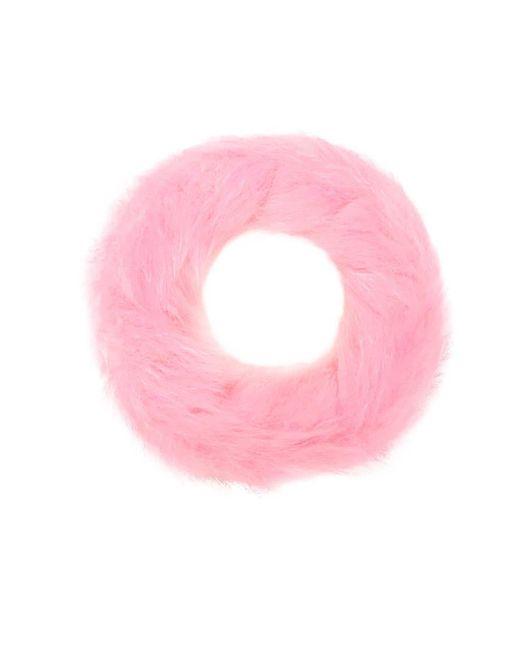 Forever 21 - Pink Faux Fur Bracelet - Lyst