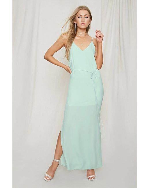 Forever 21 - Green Pretty By Rory Strappy Dress - Lyst