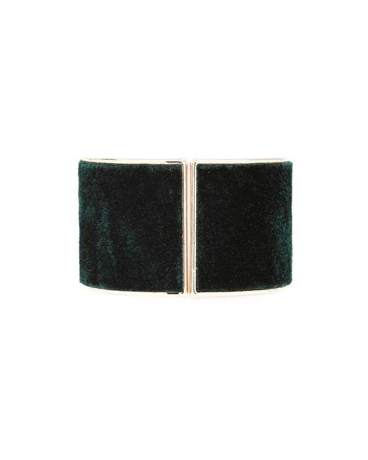 Forever 21 | Green Faux Fur Hinge Bracelet | Lyst