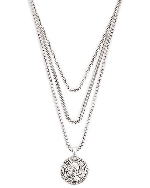 Forever 21 - Metallic Pendant Necklace Set - Lyst