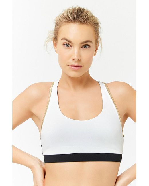 80319171eb Forever 21 - Multicolor High Impact - Sports Bra - Lyst ...