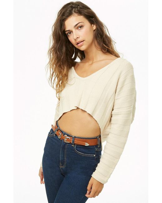 Forever 21 - Blue Double-buckle Faux Leather Belt - Lyst