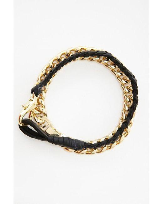 FOREVER21 - Metallic Akademiks Bracelet Set - Lyst