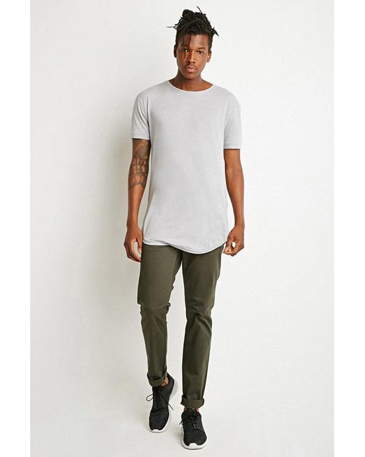 Forever 21   Green Classic Twill Pants for Men   Lyst
