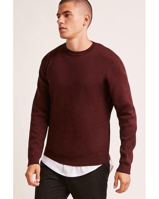 Forever 21 - Multicolor Crew Neck Sweater for Men - Lyst