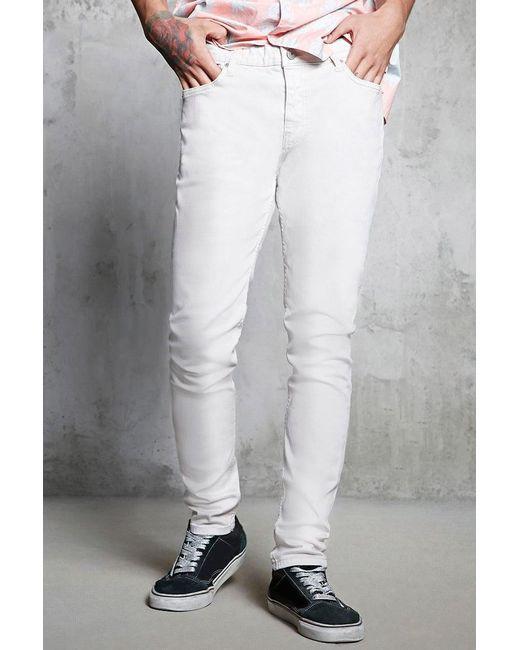 Forever 21 - Natural Slim-fit Jeans for Men - Lyst