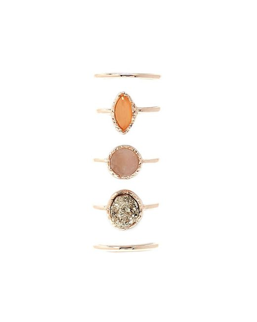 Forever 21 - Metallic Stackable Ring Set - Lyst