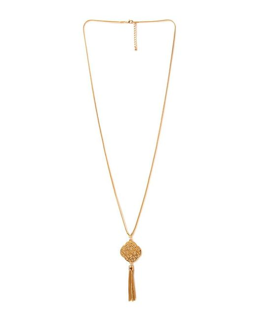 Forever 21 - Metallic Old World Pendant Necklace - Lyst