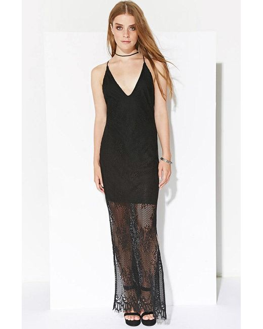 Forever 21 - Black Ministry Of Style Eternal Maxi Dress - Lyst