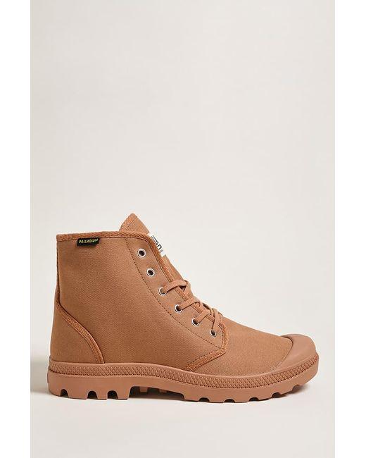 Forever 21 - Brown Men Palladium Canvas Boots for Men - Lyst ...