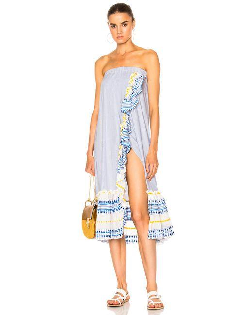 Lemlem | Blue Mwali Convertible Dress | Lyst