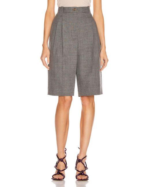 Loewe Gray Trouser Short