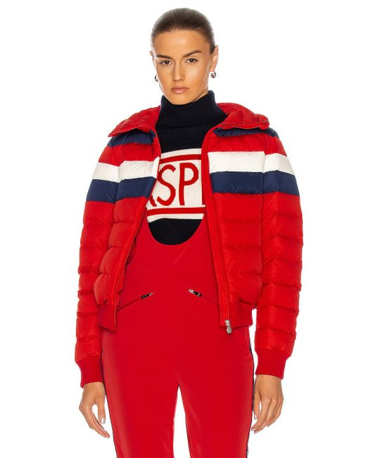 Perfect Moment Red Queenie Jacket