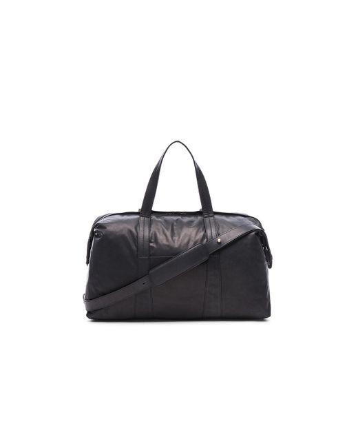 Maison Margiela   Black Duffel Bag   Lyst