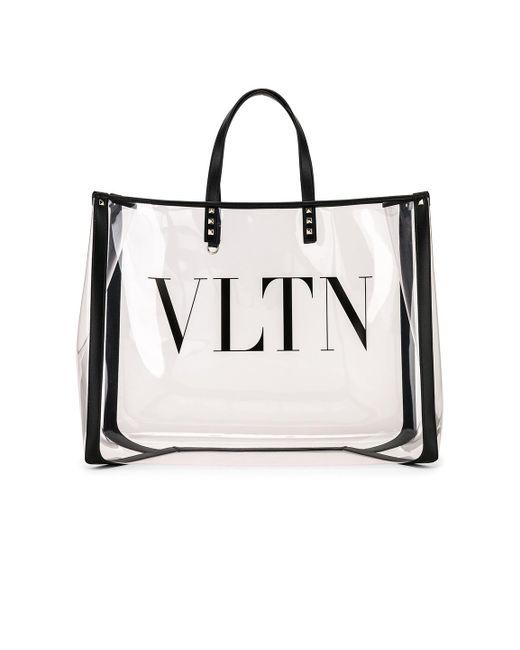 2c6c181e0 ... Valentino - Multicolor Garavani Grande Plage Large Leather-trimmed  Printed Pvc Tote - Lyst ...