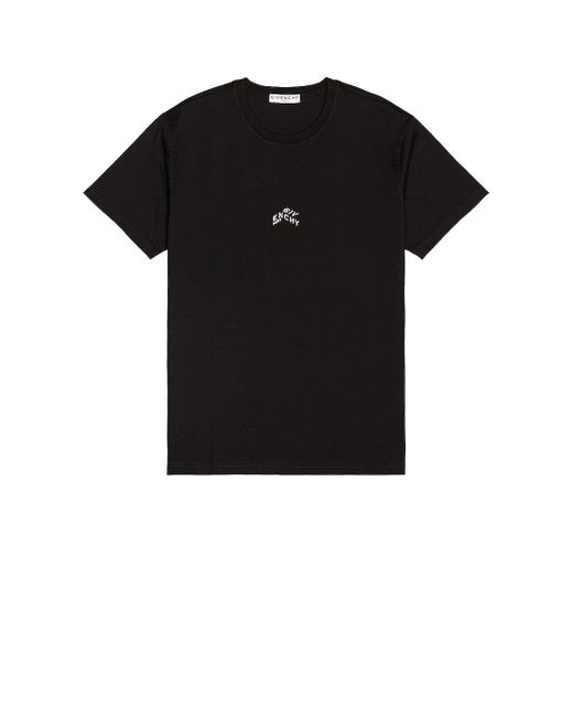 Givenchy Black Refracted Mini Tee for men