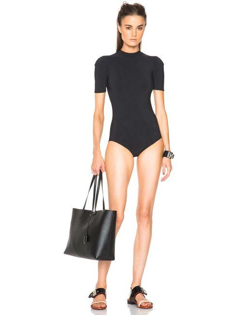 Acne | Black Hadara Swimsuit | Lyst