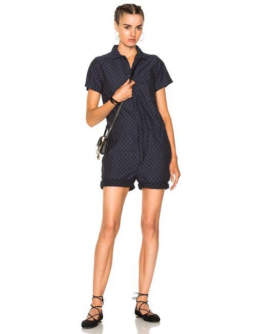 Engineered Garments | Blue Combi Suit | Lyst