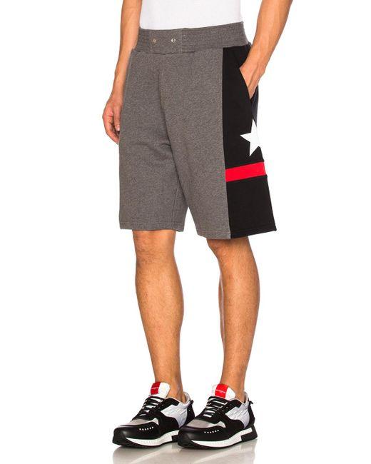 Givenchy | Gray Bermuda Shorts for Men | Lyst