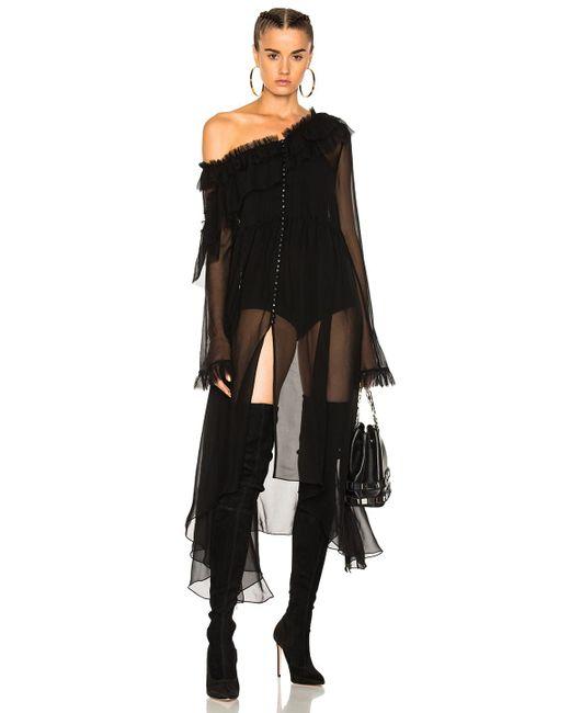 Magda Butrym   For Fwrd Saragossa Dress In Black   Lyst