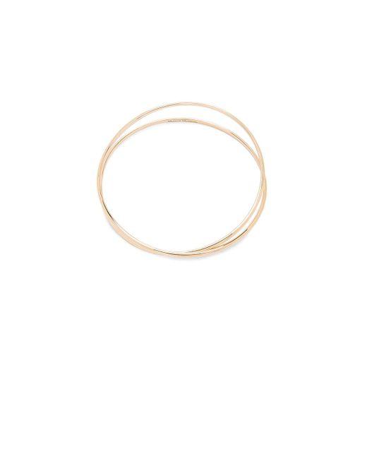 Maison Margiela | Metallic Fine Twisted Bracelet | Lyst