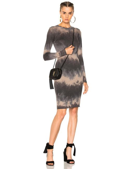 Raquel Allegra | Black Mandarin Fitted Dress | Lyst