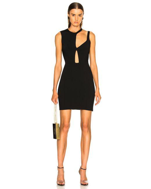 Esteban Cortazar - Black Cutout Mini Dress - Lyst